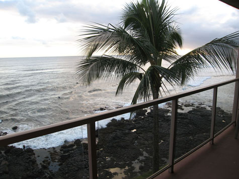 View from Balcony 414