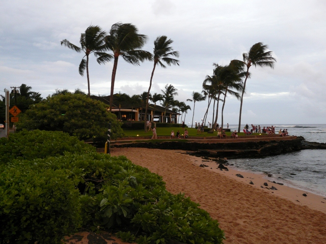 Kuhio Shores Beach